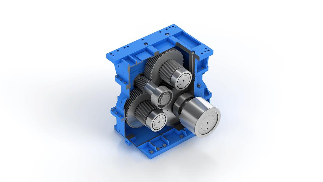 eisenbeiss industriegetriebe 3D visualisierung smartCG